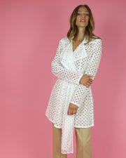 SKAZI | BLAIZ | WHITE BELTED JACKET