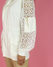 SKAZI | BLAIZ | WHITE LACE JACKET