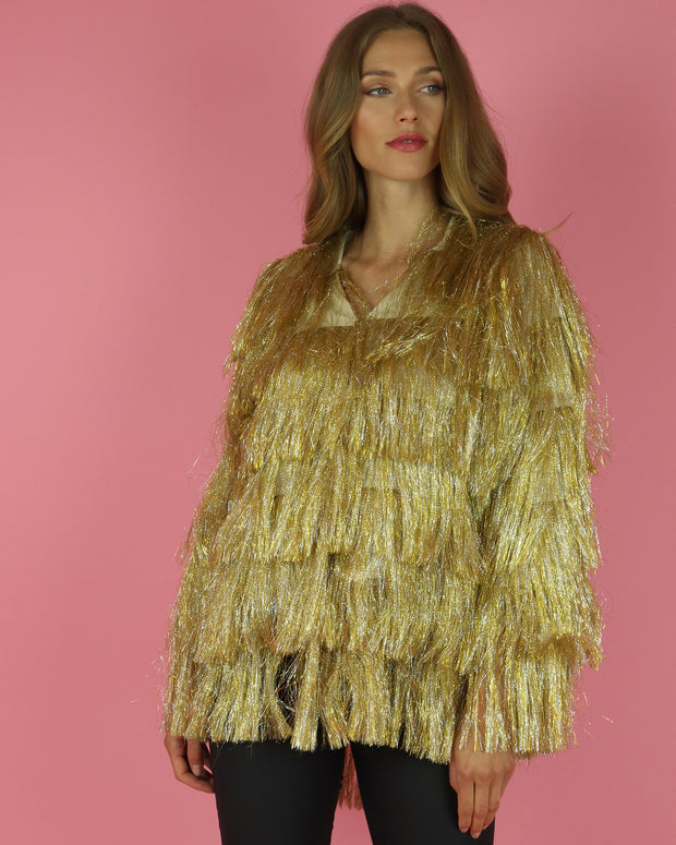 Goldie Fringe Jacket