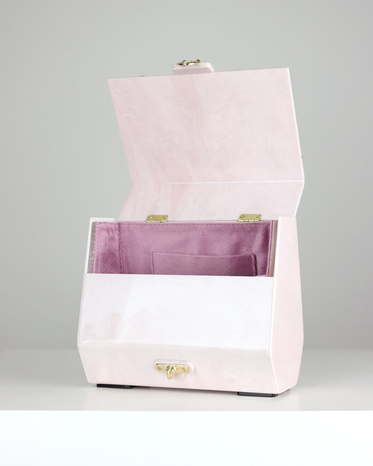 Luna Acrylic Shoulder Bag