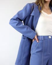 BLAIZ | C/MEO Collective Washed Blue Caprice Blazer