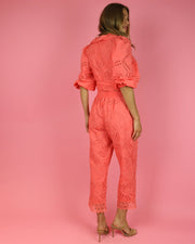 Coral Villa Palma Cotton Pants