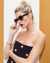 Load image into Gallery viewer, Tortoiseshell Helena Sunglasses