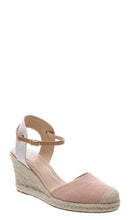 Load image into Gallery viewer, Light Pink Espadrille Wedges