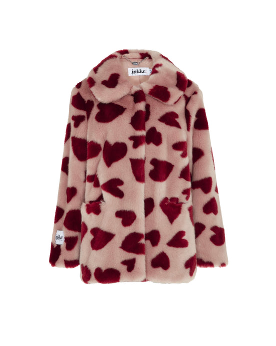 Pink Tilly Heart Coat