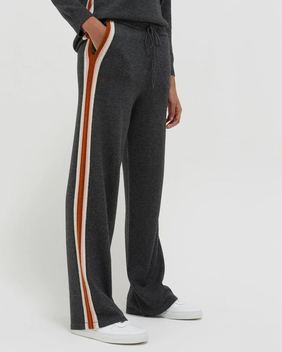 Grey Heritage Stripe Trackpant