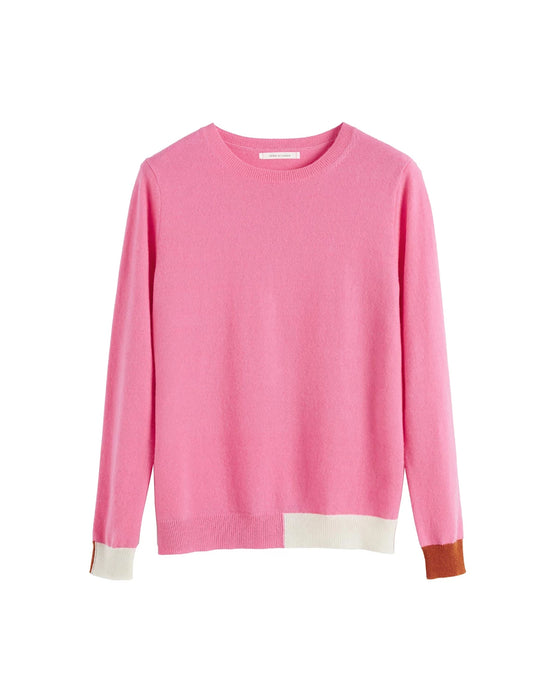 Pink Cambridge Cashmere Sweater