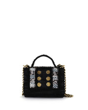 Black Manhattan Mini Bag