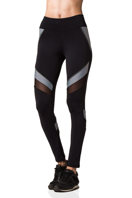 Black & Grey Avalon Leggings