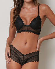 MARTINIQUE | BLAIZ | Candy Black Bra & Panty Set