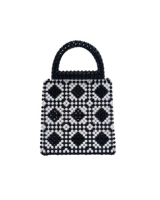 Black & White Mini Tote Bag
