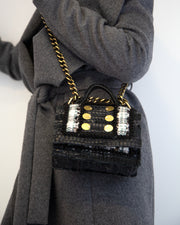 KOORELOO | BLAIZ | Black Manhattan Mini Bag
