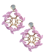 Baby Pink Trulli Earrings