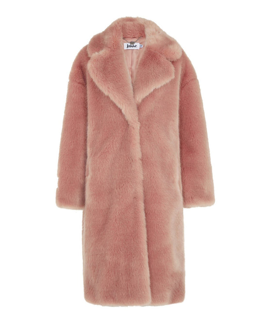 Pink Katie Long Coat