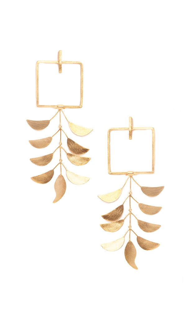 ROSE KHBEIS | BLAIZ | Gold Trinity Earrings