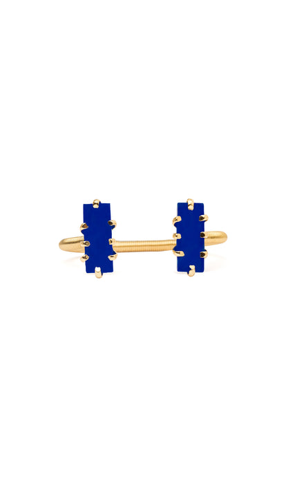 Blue & Gold Mini Shmali Bracelet