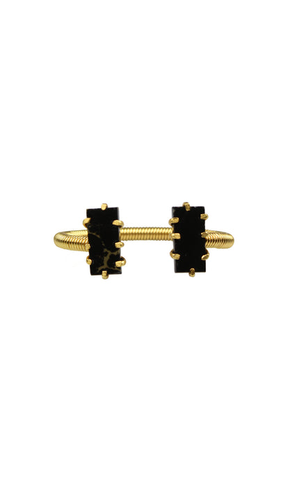 Black & Gold Mini Shmali Bracelet