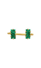 Load image into Gallery viewer, Gold & Malachite Mini Shmali Bracelet