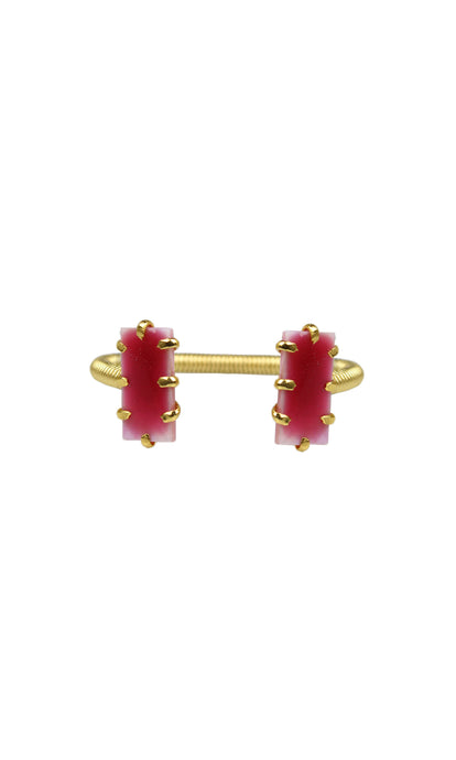 Red & Gold Mini Shmali Bracelet