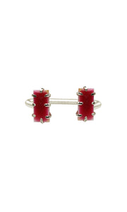 Red & Silver Mini Shmali Bracelet