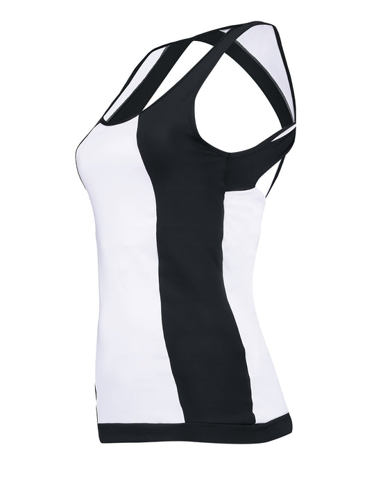 Black & White Tank Top