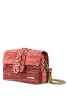 Load image into Gallery viewer, Pink Rock Star Leather Shoulder Bag