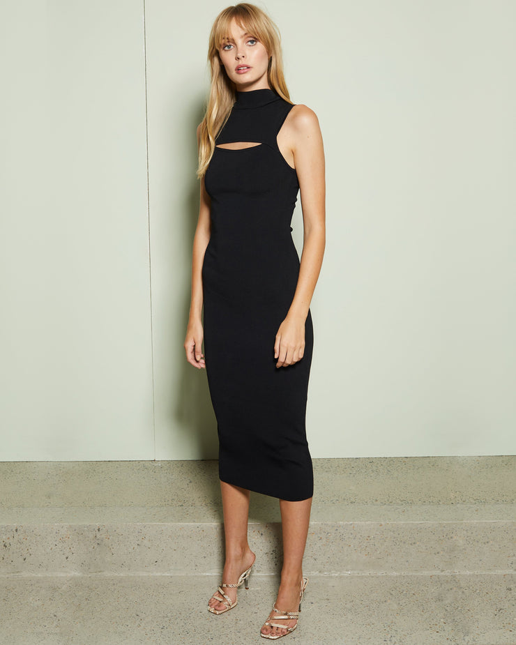 Black Georgie Dress