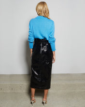 Load image into Gallery viewer, Black Finn Midi Skirt