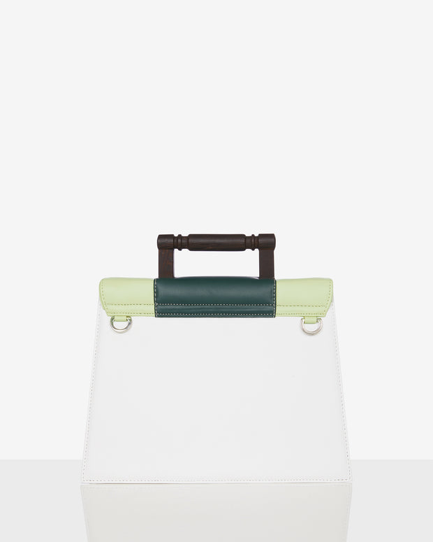 Daphne Forest Green Tote Bag
