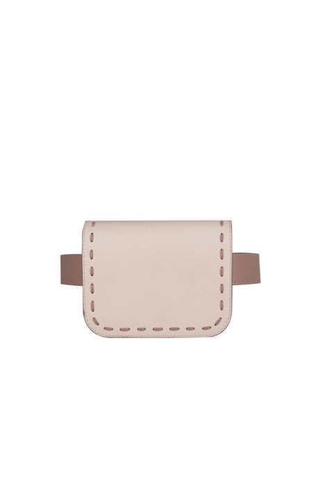 Cream Belt Bag