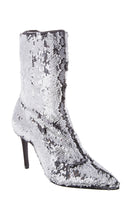 Load image into Gallery viewer, Sequin High Heeled Boots