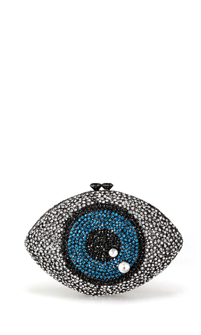 Embellished Eye Clutch