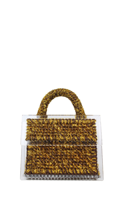 Gold Sparkly Bag