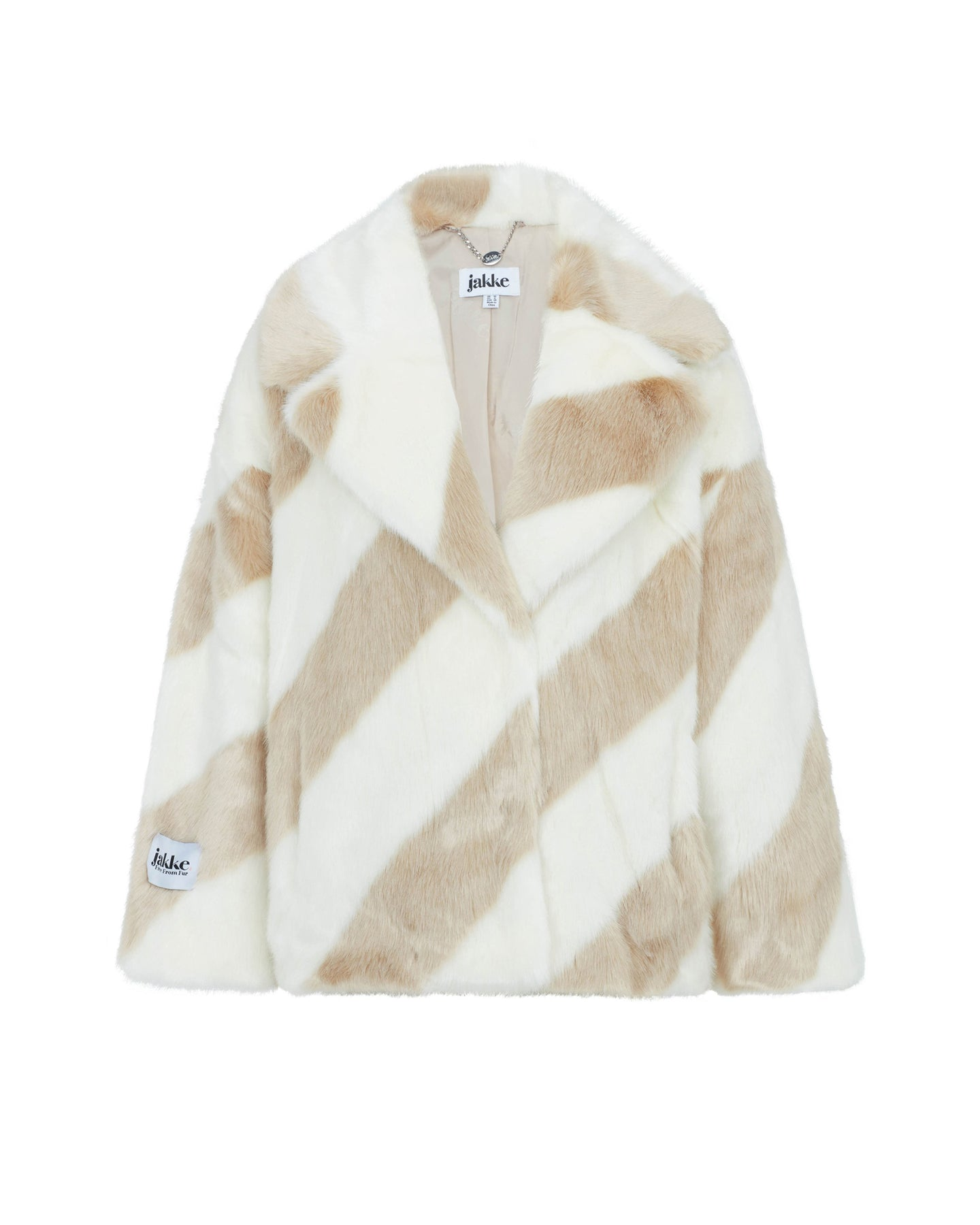 Rita Cream Stripe Jacket