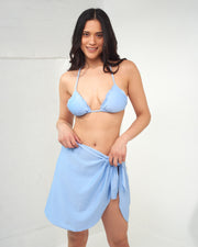 CIA MARITIMA | BLAIZ | Light Blue Short Canga
