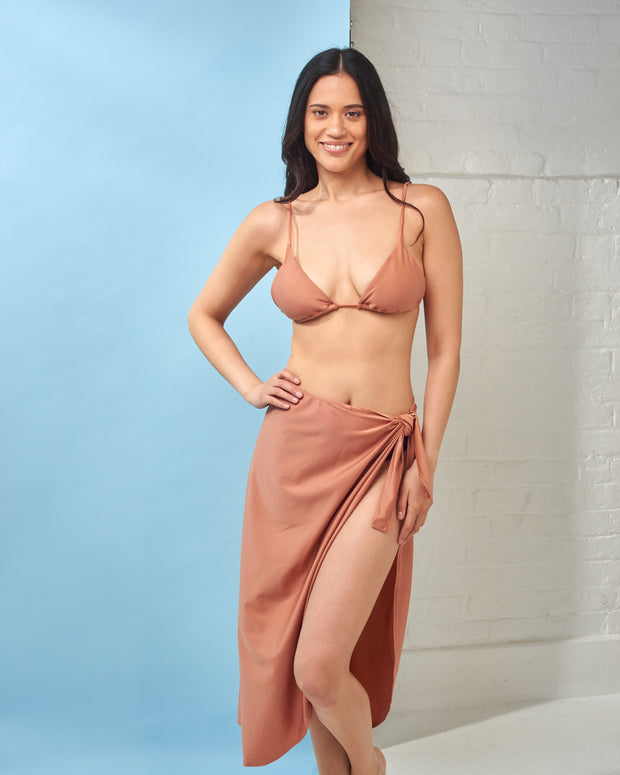 CIA MARITIMA | BLAIZ | Long Copper Canga Beachwear