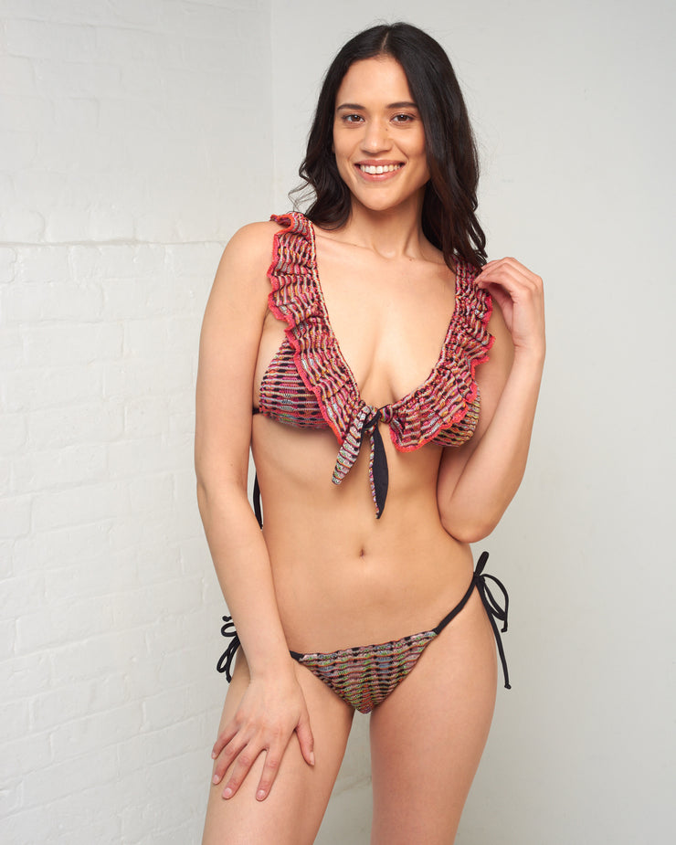 Crochet Tie Side Bikini Bottoms