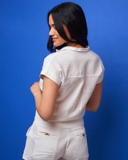 CIA MARITIMA | BLAIZ | Off White Two Pocket Shorts