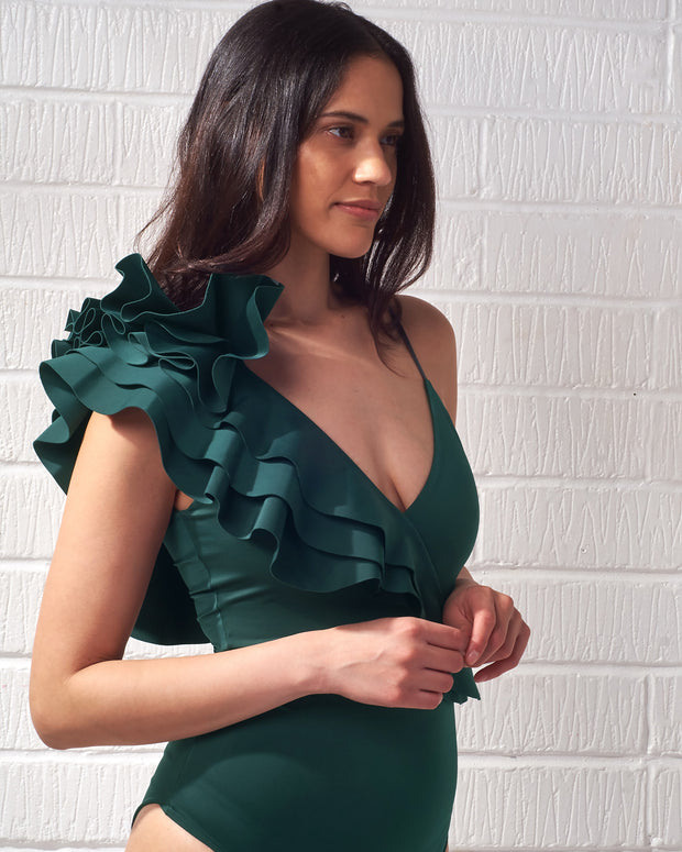 Emerald Green Noor Bodysuit