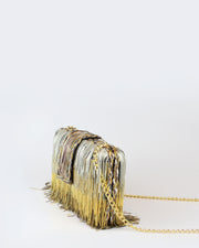 Ombre Chain Clutch