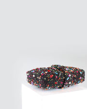Black Donut Clutch