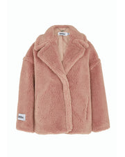 Pink Rita Teddy Jacket