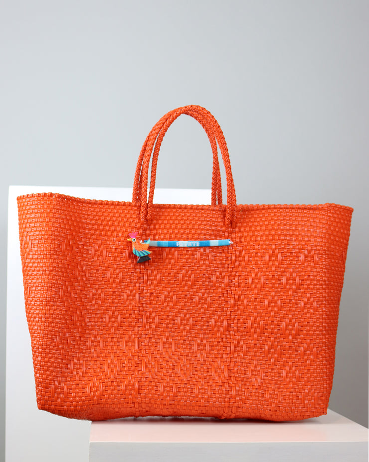 PETATE | BLAIZ | ORANGE TOTE BAG