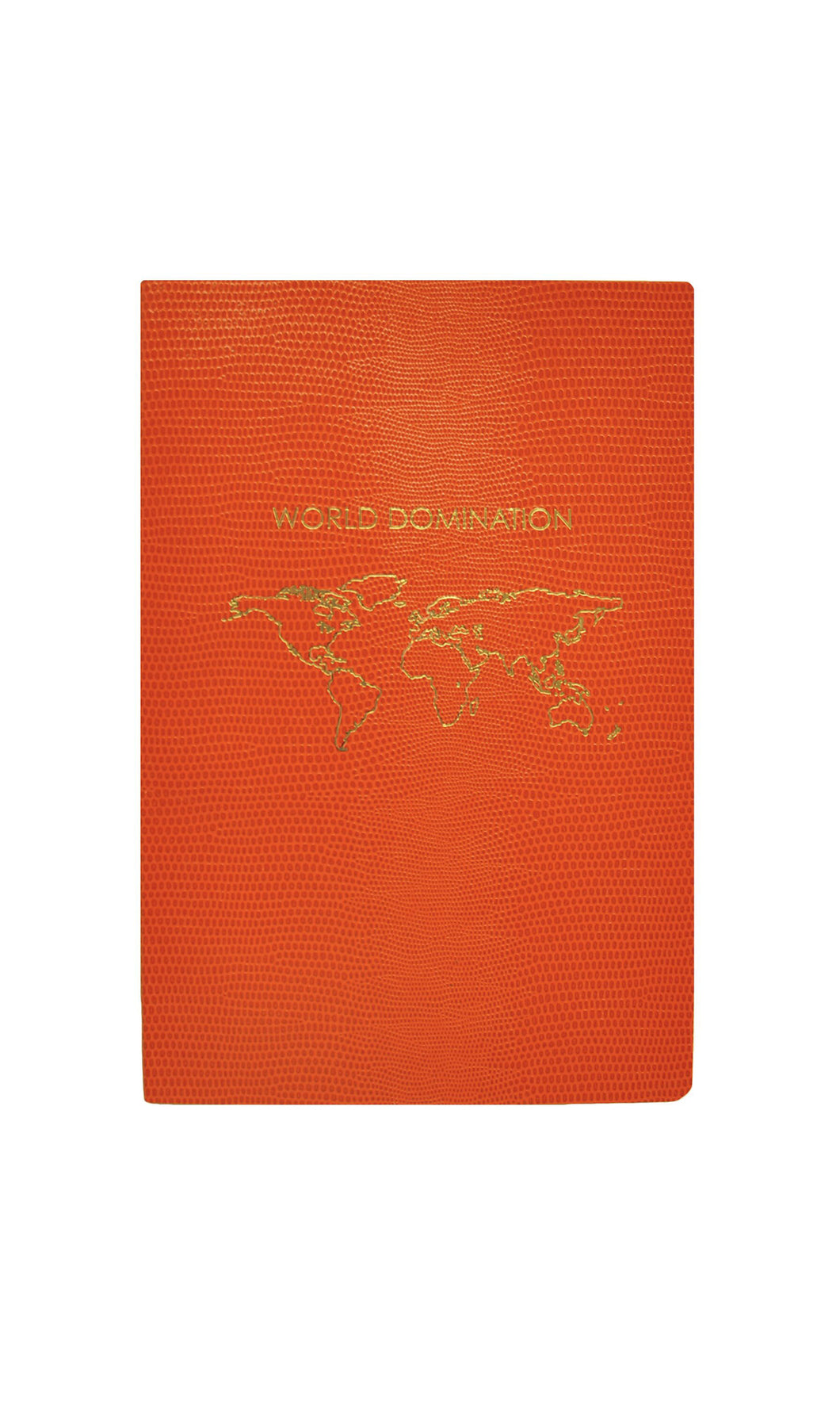 World Domination A5 Notebook