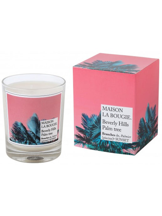 Beverly Hills Palm Tree Candle