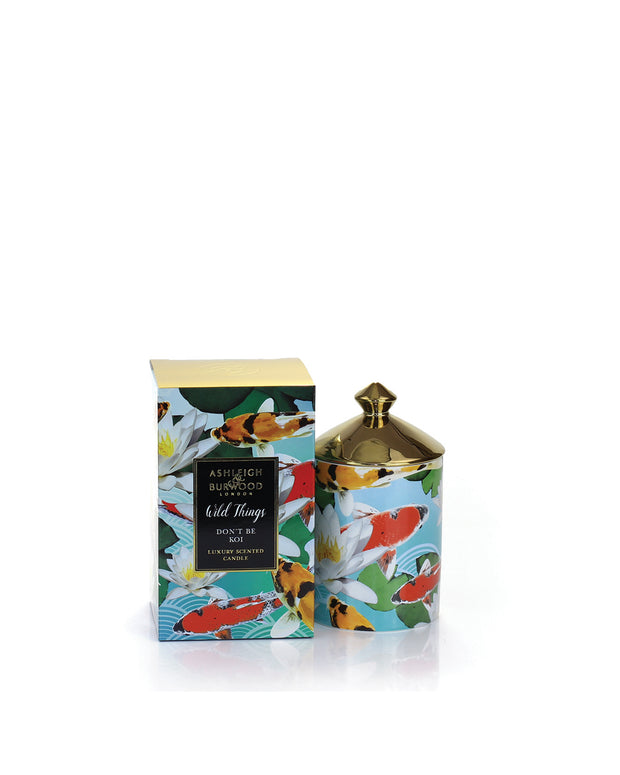 ASHLEIGH & BURWOOD | BLAIZ | Moroccan Spice Jasmine Lily Lemon Orange Narcissus Koi Scented Candle Home Fragrance Homeware Gift