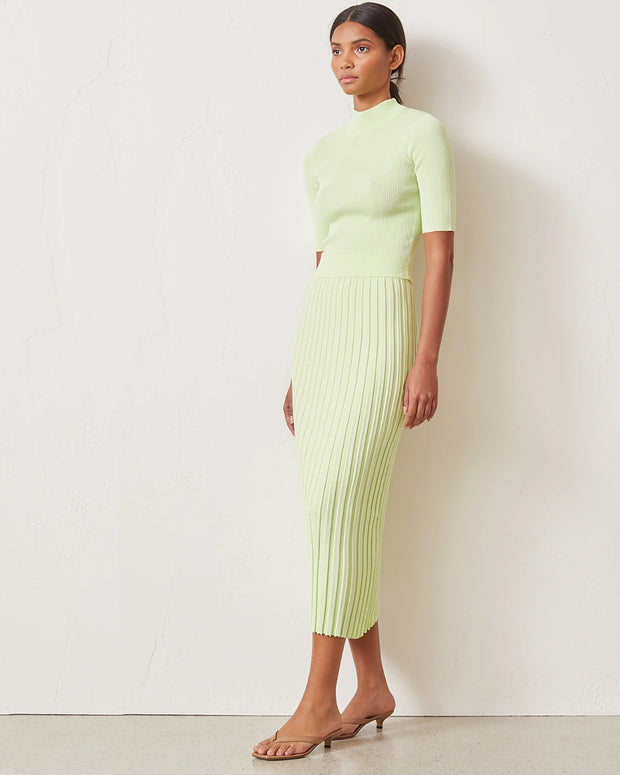 BEC & BRIDGE | BLAIZ | Citrus Club Knit Midi Skirt