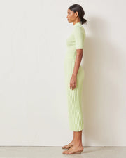 Citrus Club Knit Midi Skirt