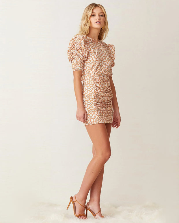 Zoe Puff Sleeve Mini Dress