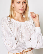 Load image into Gallery viewer, White Broderie Anglaise Blouse